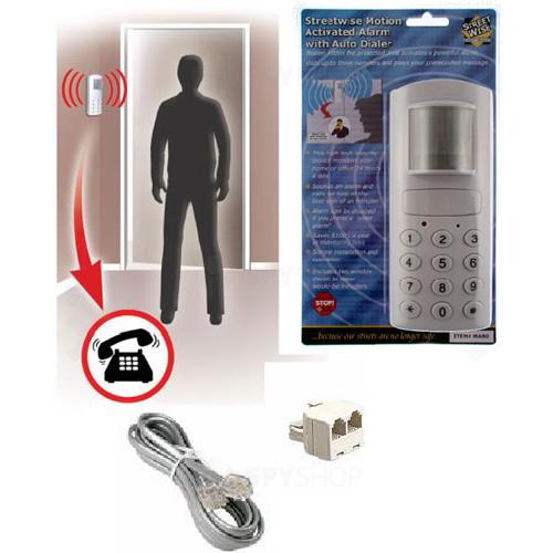 Sistem alarma antiefractie wireless cu apelator telefonic MA80