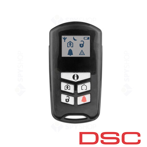 Sistem alarma antiefractie wireless DSC Kit Alexor
