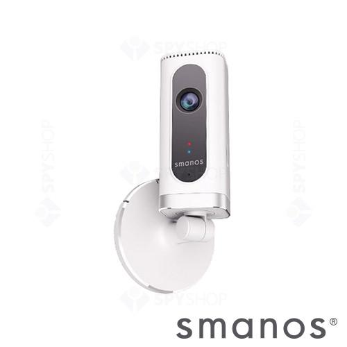Sistem de alarma wireless Wi-Fi cu camera video Smanos W020+IP6
