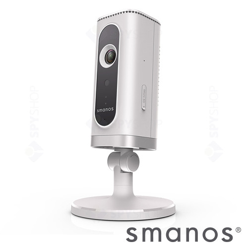 Sistem de alarma wireless Wi-Fi/PSTN cu camera video Smanos W100+IP6