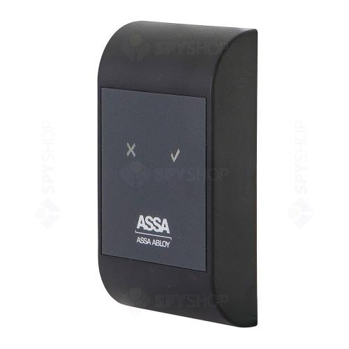Sistem de control acces pentru 2 usi unidirectionale Assa Abloy RX WEB 9101IV-2U, 100000 carduri, 13.56 MHz