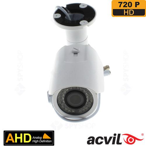 SISTEM SUPRAVEGHERE EXTERIOR AHD CU 8 CAMERE VIDEO ACVIL AHD-8EXT40-720P