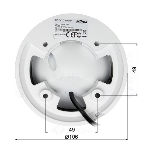 Sistem supraveghere interior basic Dahua DH-B2INT50-4MP, 2 camere, 4 MP, IR 50 m