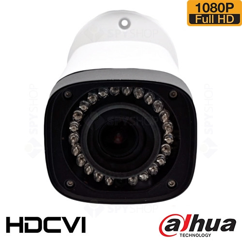 SISTEM SUPRAVEGHERE EXTERIOR HDCVI CU 4 CAMERE VIDEO DAHUA CVI-4EXT30-1080P