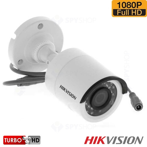 SISTEM SUPRAVEGHERE EXTERIOR TURBOHD CU 4 CAMERE VIDEO HIKVISION TVI-4EXT20-1080P