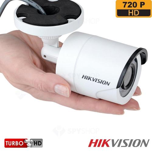 SISTEM SUPRAVEGHERE EXTERIOR TURBOHD CU 4 CAMERE VIDEO HIKVISION TVI-4EXT20-720P