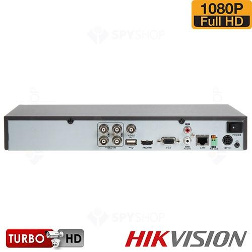 SISTEM SUPRAVEGHERE EXTERIOR TURBOHD CU 4 CAMERE VIDEO HIKVISION TVI-4EXT40-1080P