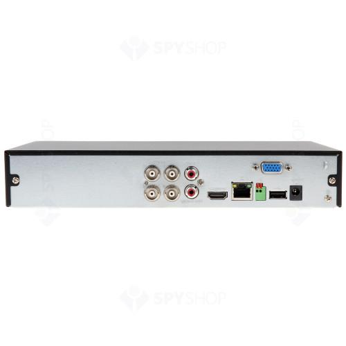 Sistem supraveghere exterior basic Dahua DH-B2EXT80-4MP, 2 camere, 4 MP, IR 80 m