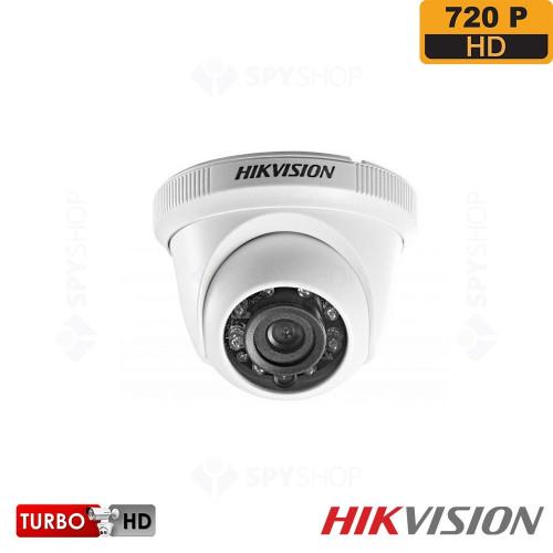 SISTEM SUPRAVEGHERE INTERIOR TURBOHD CU 4 CAMERE VIDEO HIKVISION TVI-4INT20-720P