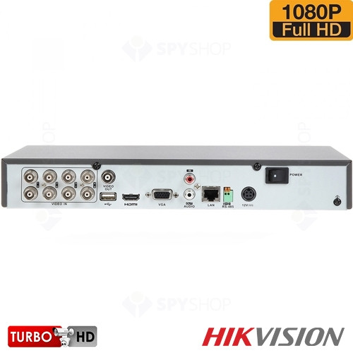 SISTEM SUPRAVEGHERE INTERIOR TURBOHD CU 8 CAMERE VIDEO HIKVISION TVI-8INT20-1080P