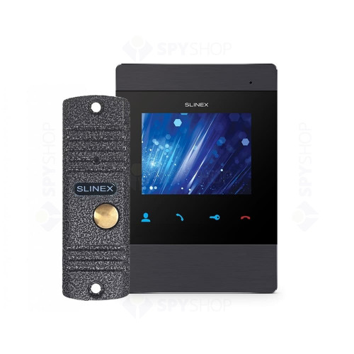 Kit videointerfon Slinex VID-SLI-05 1 familie, aparent, 4 inch