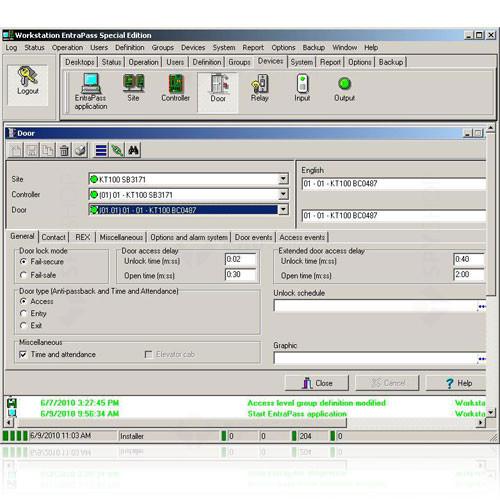 Software Kantech special edition entrapass E-SPE-EN-V3