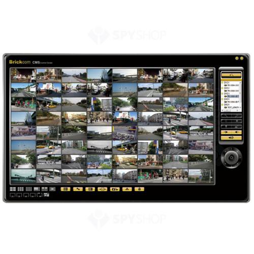 Software VMS pana la 64 canale Brickcom BRC64-Pro