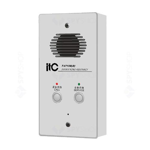 Statie apelare de urgenta si service Intercom ITC T-6715B(D)