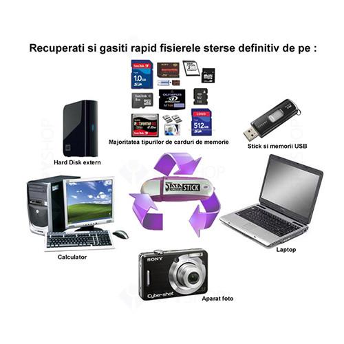 Stick USB pentru recuperarea datelor PDR-STICK