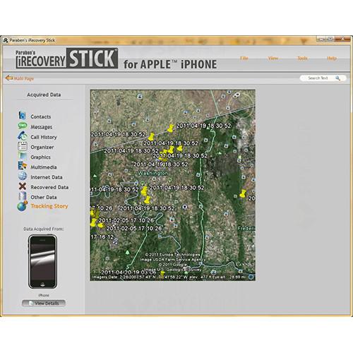 Stick USB pentru recuperarea datelor de pe iPhone PIR-STICK