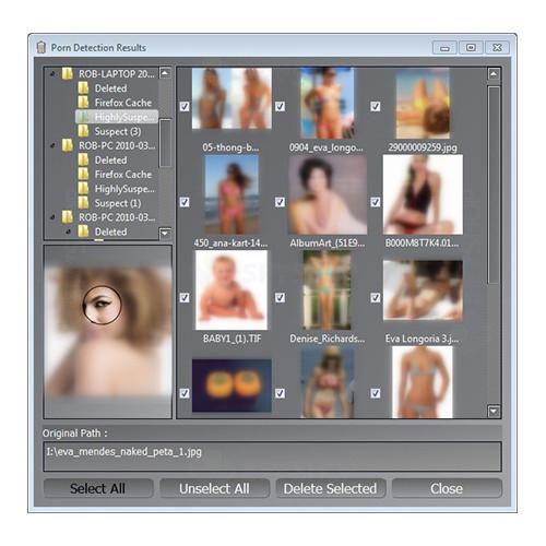 Stick USB pentru detectarea materialelor pornografice PPD-STICK