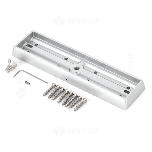 Suport montare contraplaca electromagnet MBK-280I-N, aparent, aluminiu anodizat
