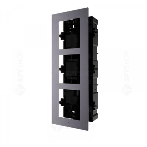 Suport montare videointerfon HIKVISION DS-KD-ACF3, ingropat