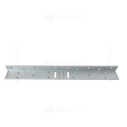 Suport tip L pentru montare electromagnet MBK-180NDL, aparent, aliaj de aluminiu