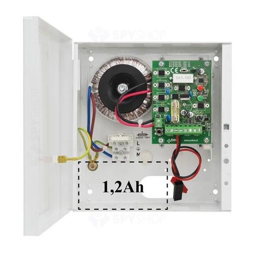 Sursa de alimentare liniara cu back-up Pulsar AWZ100, 13.8 V, 0.9 A, 20 VA