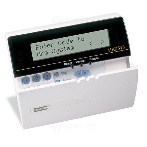 Tastatură LCD dsc maxsys 6501