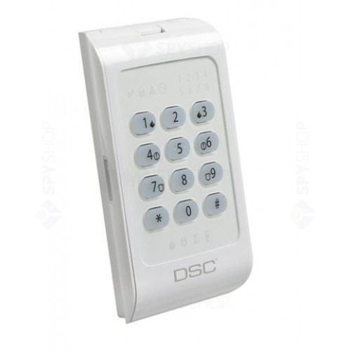 Tastatura LED pentru 8 zone DSC PC1404 RKZ
