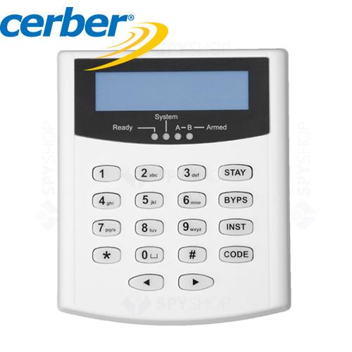 Tastatura LCD Cerber KP-16LCDL-B