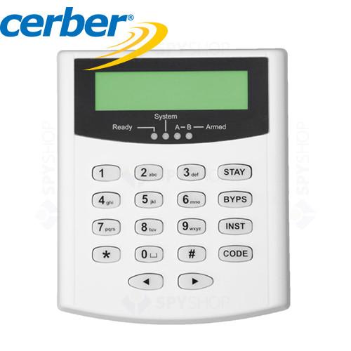 Tastatura lcd cerber kp-16lcdl-g