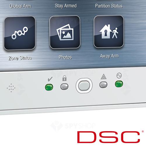 Tastatura LCD cu touch screen DSC NEO-TOUCH W