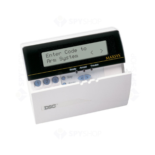Tastatura LCD DSC Maxsys LCD 4501, max 128 zone, 3000 evenimente