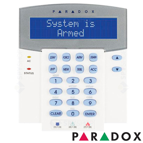 TASTATURA LCD PARADOX K651