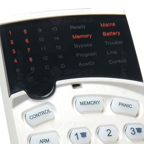 Tastatura LED Crow LED RUNNER, 3 taste de panica