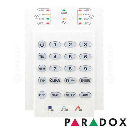 Sistem alarma antiefractie paradox sp 5500 - dg55 + k10v