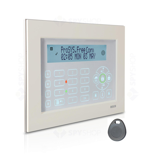 Tastatura touchscreen ProSYS Rokonet RP128KPP200A