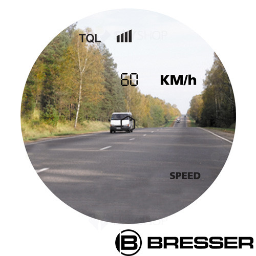 Telemetru cu indicator de viteza LV Bresser 6x25 4025840