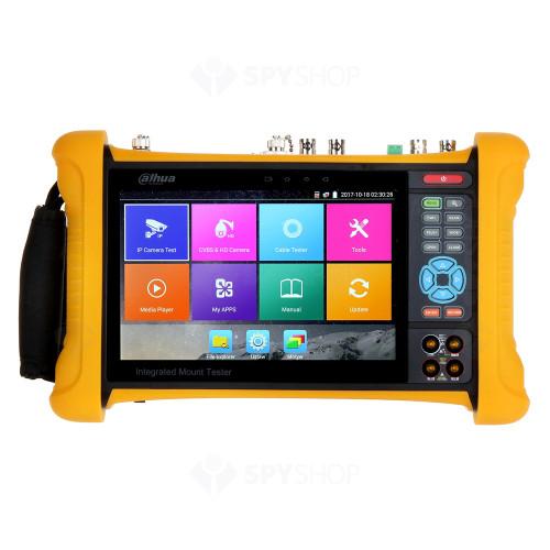 Tester CCTV profesional Dahua PFM906, 7 inch, WiFi, 8 GB, HDCVI/AHD/TVI/CVBS/IP