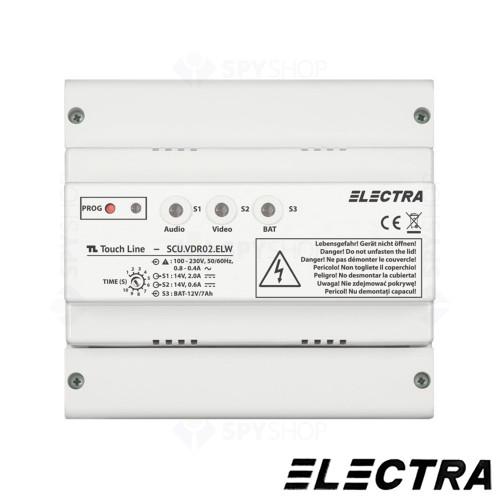 kit-interfon-1-familie-touch-line-smart-electra-akm-p1fr-t0s4-elw