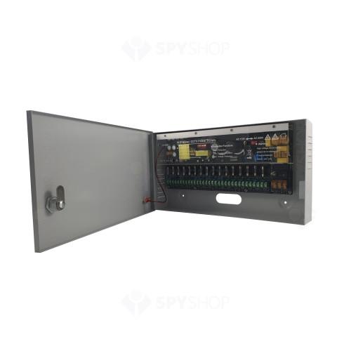 Sistem supraveghere exterior complet Acvil C8EXT20-2MP, 8 camere, 2 MP, IR 20 m
