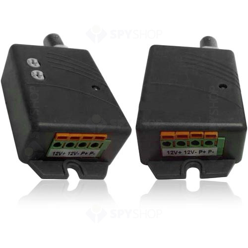 Video balun activ cu 1 canal FC-1200R+T