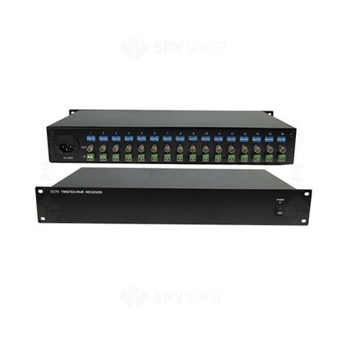 Video balun activ receptor 16 canale BA-16