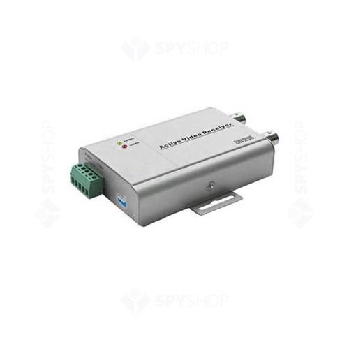 Video balun activ receptor cu 1 canal 4401RL