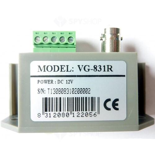 Video balun activ receptor VIGILIO VG-831R