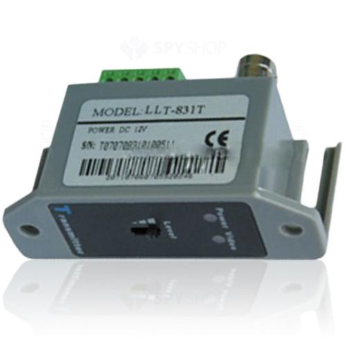 Video balun activ transmitator cu 1 canal LLT-831T