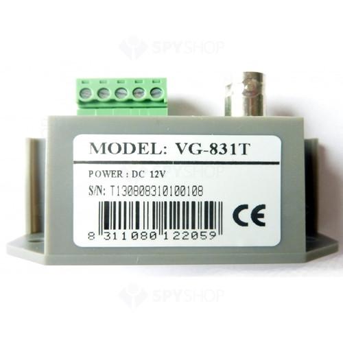 Video balun activ transmitator VIGILIO VG-831T