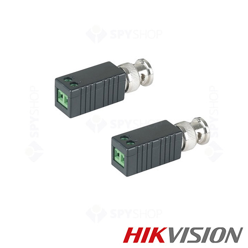Video balun pasiv TurboHD Hikvision TTP111HD