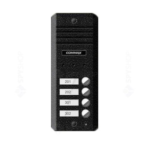 Videointerfon de exterior Commax DRC-4BD, 4 familii, aparent, 1/3 inch