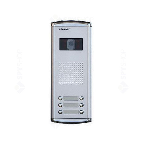 Videointerfon de exterior Commax DRC-6AC, 6 familii, ingropat, 4 fire