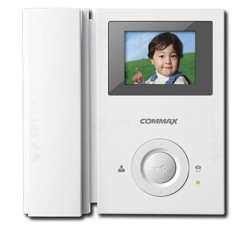 Videointerfon de interior Commax CAV-35GN, 3.5 inch, aparent, 110-220 V