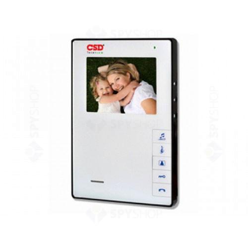 Videointerfon de interior CSD VP-609WH
